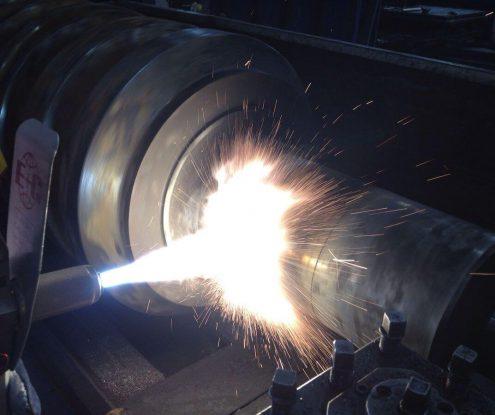 Spray welding equipment Thermatec